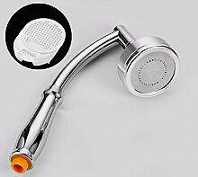 PEIWENIN-Badezimmer Dusche Kopf Dusche Plüsch Dusche Raum Aluminium Handbrause Dusche Kopf Dusche Set, Single