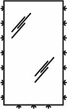 Pelipal Flächenspiegel Flächenspiegel 40 cm