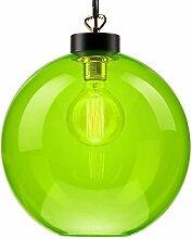 Pendel-Leuchte Decken-Leuchte aus Glas E27