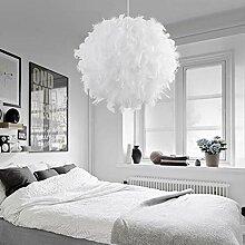 Pendelleuchte, Federn Schlafzimmer Wohnzimmer