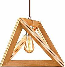 Pendelleuchte Holz Hängelampe wohnzimmer Lampen