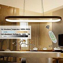Pendelleuchte LED Dimmbar, Büro-Pendelleuchte,