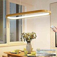 Pendelleuchte LED Dimmbare Holz Esszimmer Lampe,