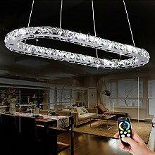 Pendelleuchte LED Kristallleuchter Dimmbar mit