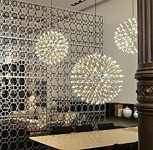 Pendelleuchte LED Metall Hängeleuchte Kugel