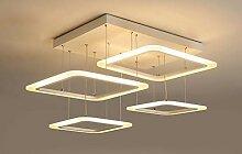 Pendelleuchte LED Moderne 4 Platz Hängeleuchte