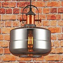 Pendelleuchte Rauchglas Neues Design: Deckenlampe