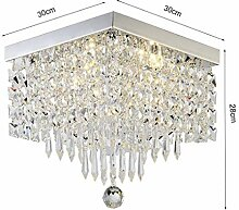 Pendelleuchten Moderne LED-Kristalldeckenleuchte