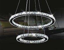 Pendelleuchten Moderner Ring LED Kristall