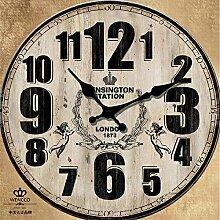 Pengei Wanduhr Wandaufkleber Uhren Küchenwanduhr