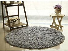 PENGFEI Teppich Kreisförmige Fitness Yoga Teppich Hängende Korb Computer Sitzkissen Schlafzimmer Wohnzimmer Schöne Nachttischteppich Rutschfeste Teppichmatten ( Farbe : H , größe : 80cm )