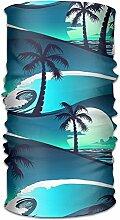 Pengyong Tropische Palme Hawaii Strand Sunrise