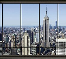 PENTHOUSE NEW YORK 3x2,70m Deko Fototapete XXL