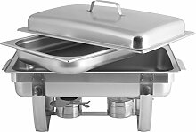 Pentole Agnelli coix3131Linie Buffet, Chafing Dish mit Deckel Mobile, 56x 35.5x 31cm