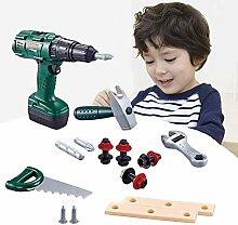 Pepional Kinder Werkzeugset, Elektrische Reparatur