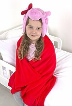 "Peppa Pig ""Schleife Cuddle Bademantel,"
