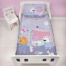 Peppa Pig Bettwäsche-Set für Kinderbett,