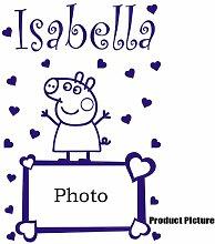 Peppa Pig, Bilderrahmen, Herz mit von Ihnen