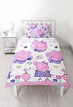 Peppa Pig Happy Bettdeckenbezug,