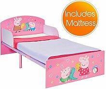 Peppa Pig Kinderbett mit Schaummatratze