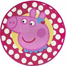 Peppa Pig Tweet Kinder Mädchen rund Schlafzimmer