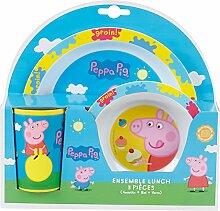 Peppa Wutz : Baby Geschirr Set - Kinder Geschirr