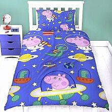 Peppa Wutz Kinder Bettwäsche Peppa Pig Mikrofaser