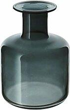 PEPPARKORN IKEA Vase in grau; aus Glas; (17cm)
