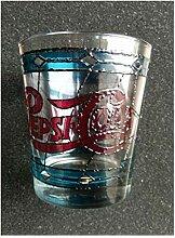 Pepsi-Glas im Tiffany-Stil