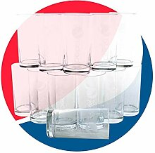 Pepsi Softdrink Gläser 12x0,2l Trink-Glas ~mn 419