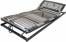 Perbix XL Lattenrost bis 135 kg - Rahmen KF verstellbar, 90x210* cm