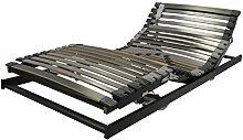 Perbix XXL Lattenrost bis 180 kg - Rahmen mit Motor, 100x200 cm