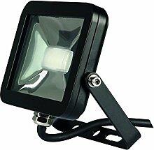 Perel Design LED-strahler, 10 W, 19,5 x 6,5 x 14,5 cm, schwarz, LEDA4001NW-B