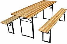 Perel - FP150N Tisch-mit 2Bänken-200x