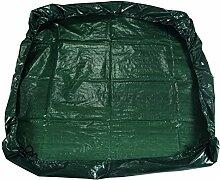 Perel Gartensack - 152 x 152 cm, 46 x 1 x 28 cm, grün, PM2006