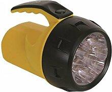 Perel LED Power Taschenlampe mit 9LEDs