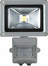 Perel LED-strahler mit pir-bewegungsmelder für