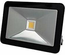 Perel LEDA5001WW-B Design-LED-Strahler, 10 W,