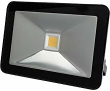 Perel LEDA5003WW-B Design-LED-Strahler, 30 W,
