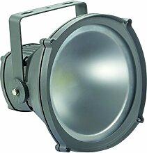 Perel Professioneller LED-fluter für den außenbereich, 10 W epistar chip, 6500 K, 22 x 22 x 21 cm, grau, LEDA315