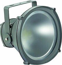 Perel Professioneller LED-fluter für den außenbereich, 30 W epistar chip, 6500 K, 27,7 x 27,7 x 26,3 cm, grau, LEDA316