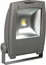 Perel Professioneller LED-fluter für den außenbereich, 50 W epistar chip, 6500 K, 35 x 43 x 15 cm, grau, LEDA311