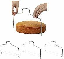 perfeclan 3 stück Küche Tortenschneider
