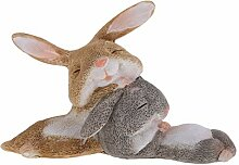 perfeclan Süße Kaninchen Hase Tierfigur Figuren