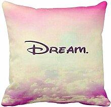 perfecone Heimwerker Kissenbezug Traum Design für