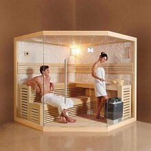 perfect-spa Design Sauna PS 1101 A Ecksauna 220 X