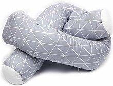 perfecti Bettschlange 200cm Babybett Kantenschutz