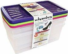 Perfekt Wham 3Pack 9Liter Box und Deckel