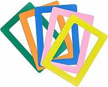 PERFETSELL 5 Stück Magnet Bilderrahmen Fotorahmen