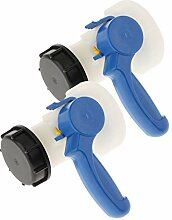 perfk 2pcs Wassertank Gartenschlauch Adapter